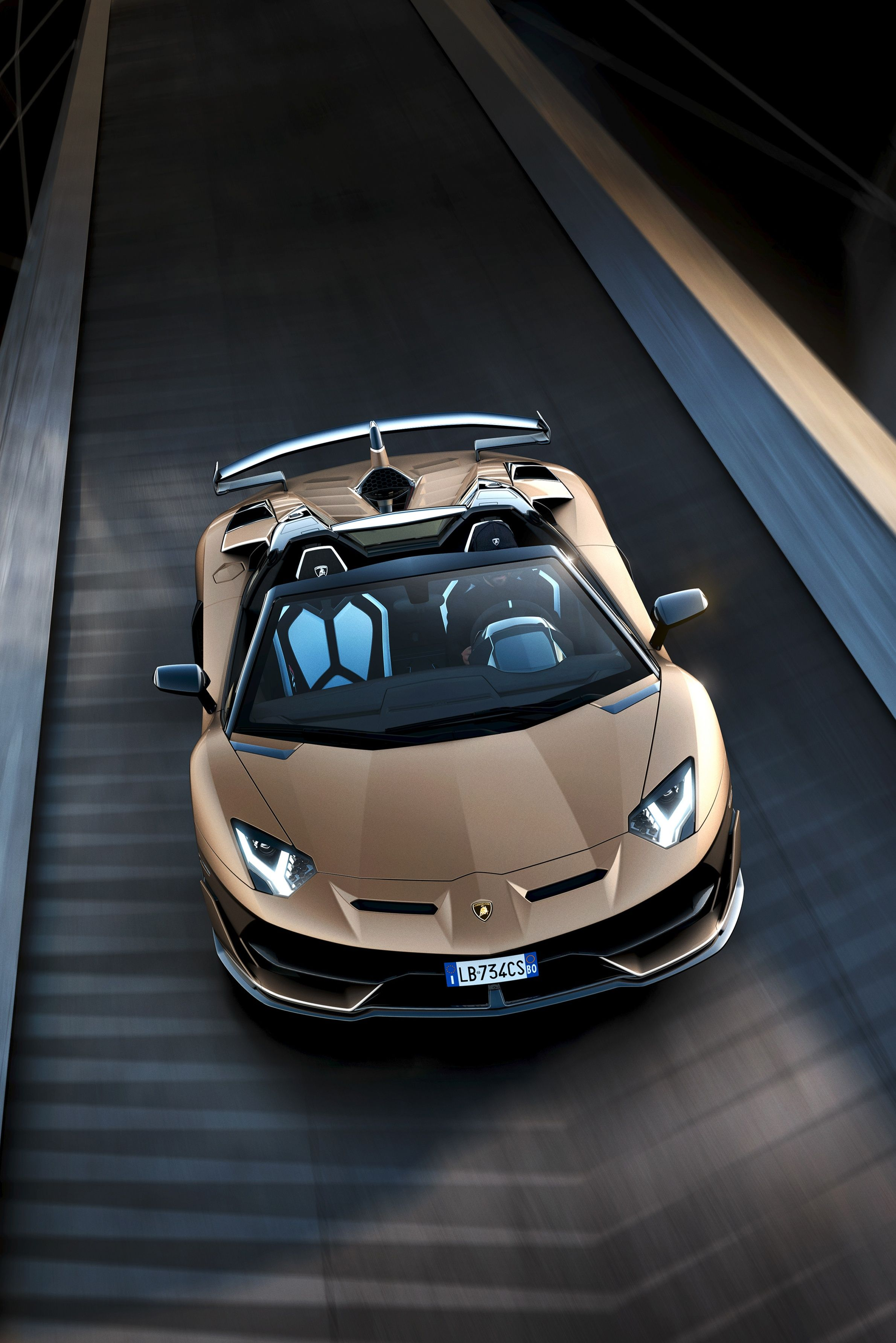 2019 Lamborghini Aventador Svj Roadster The Man Moving Fw