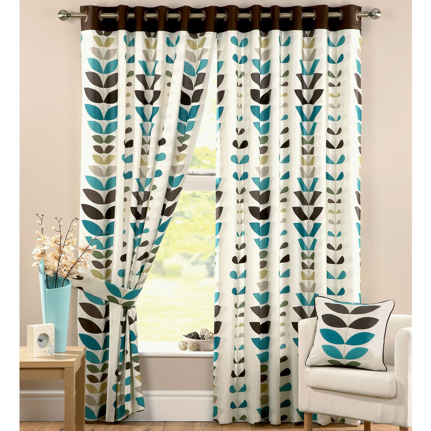 designs com regard iammizgin teal and argos valances in pillows to brown chocolate kitchen ideas with more blue curtains curtain