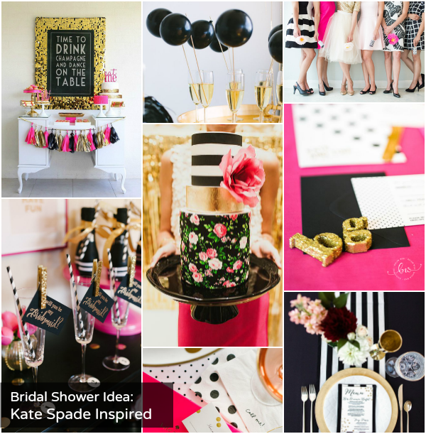 Kate Spade Inspired Bridal Shower | Creative Wedding Ideas ...