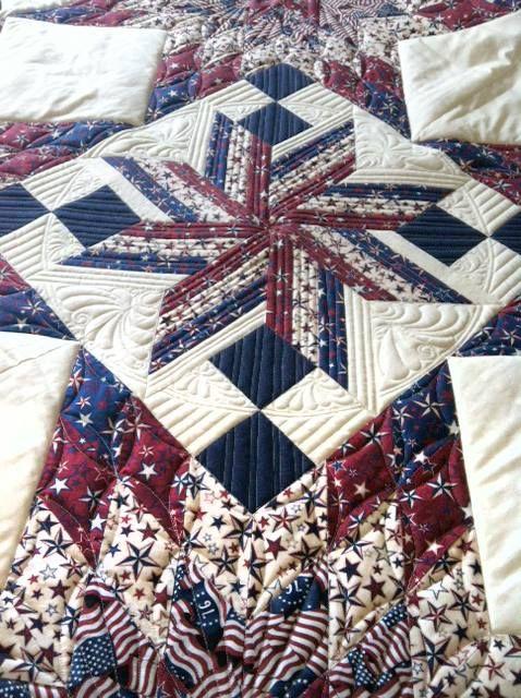 Patriotic quilt from RJR
