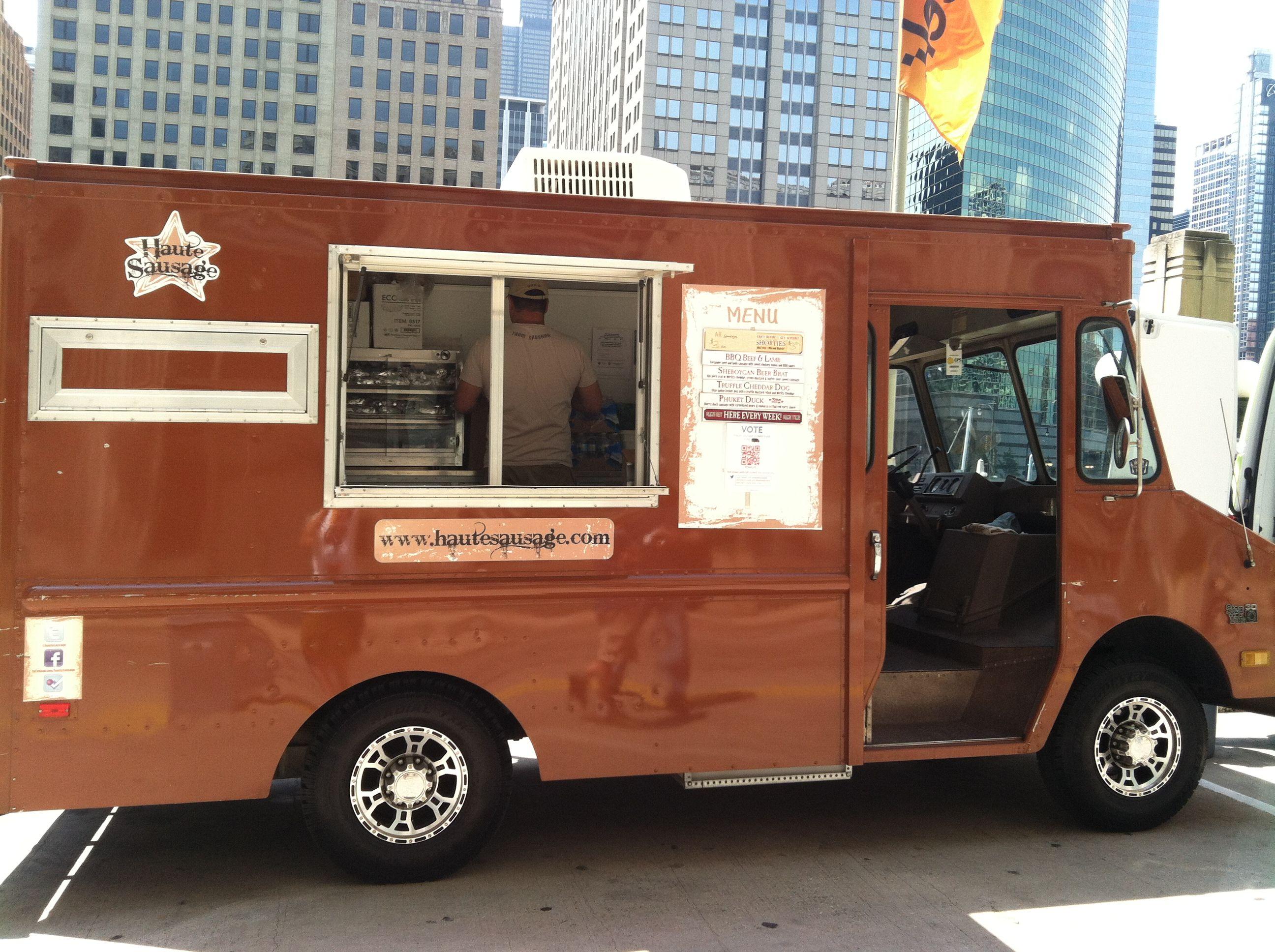 Haute sausage gourmet sausage sandwiches food truck