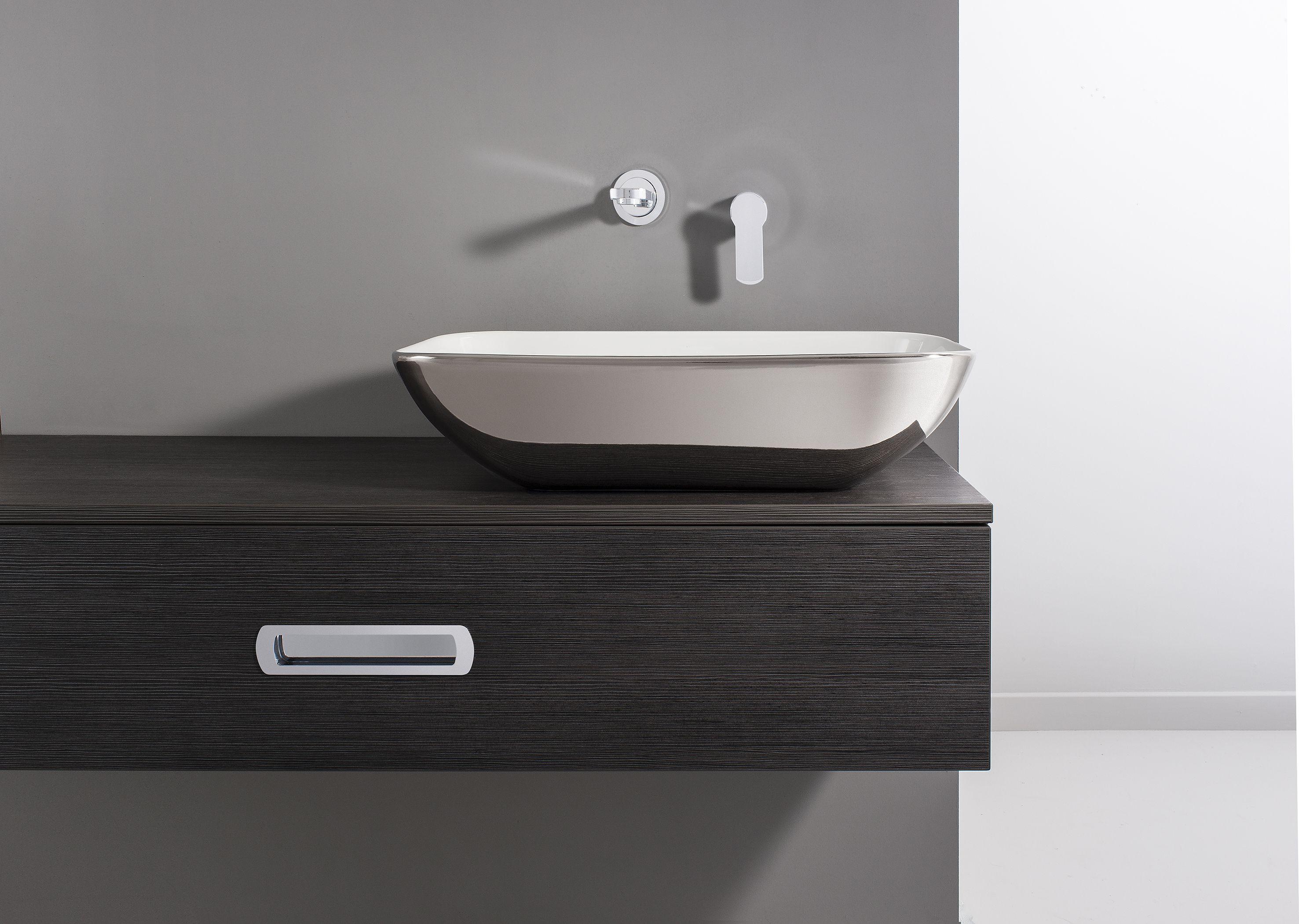 Small Bathroom Basins serene platinum countertop bathroom basin from crosswater http