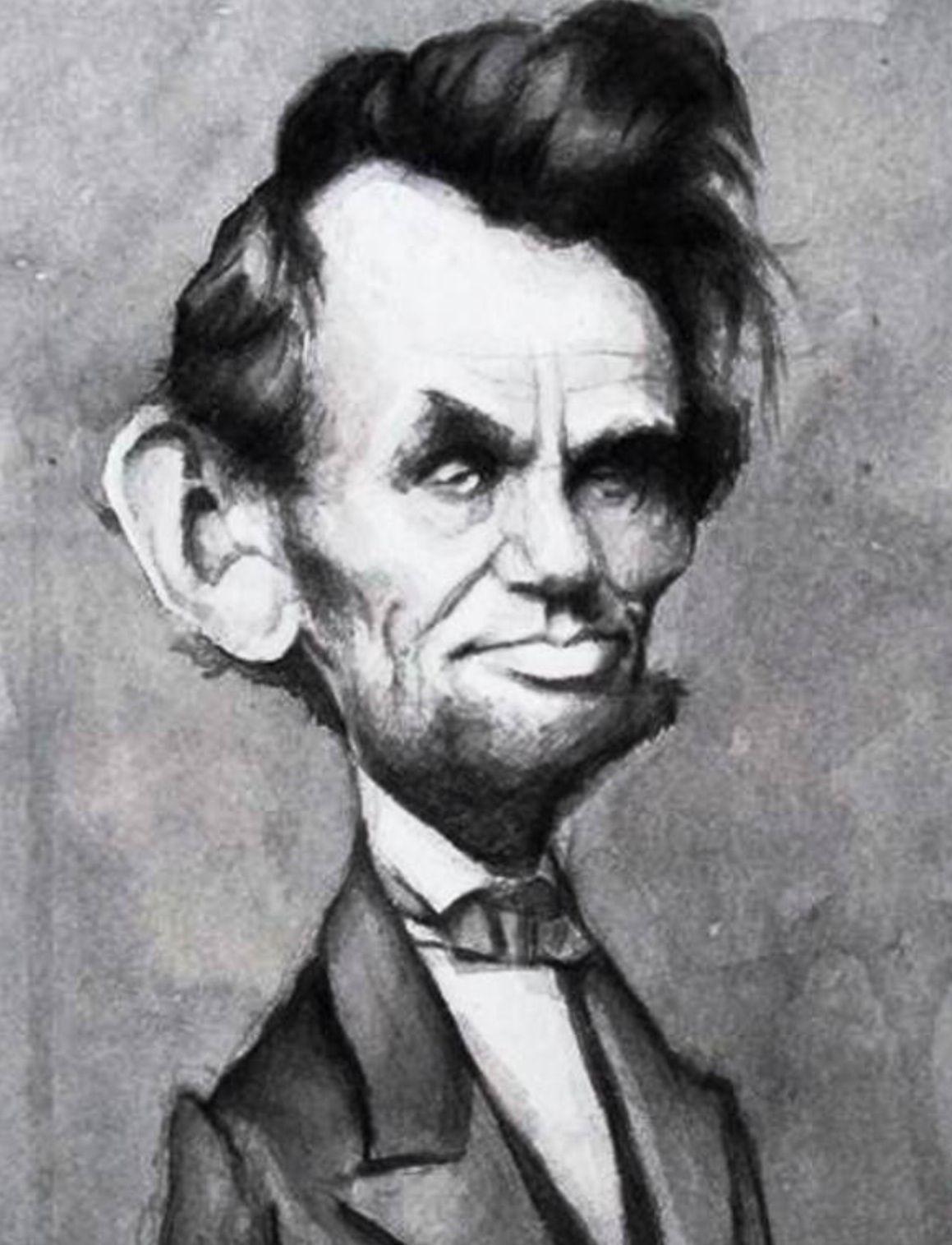 Abraham Lincoln Caricatures Pinterest Caricature Abraham