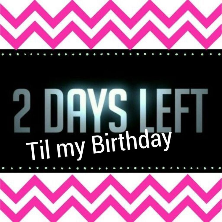 Pin By Blessed And Favored Jewels On My Birthday Birthday Countdown Birthday Discount Day Left