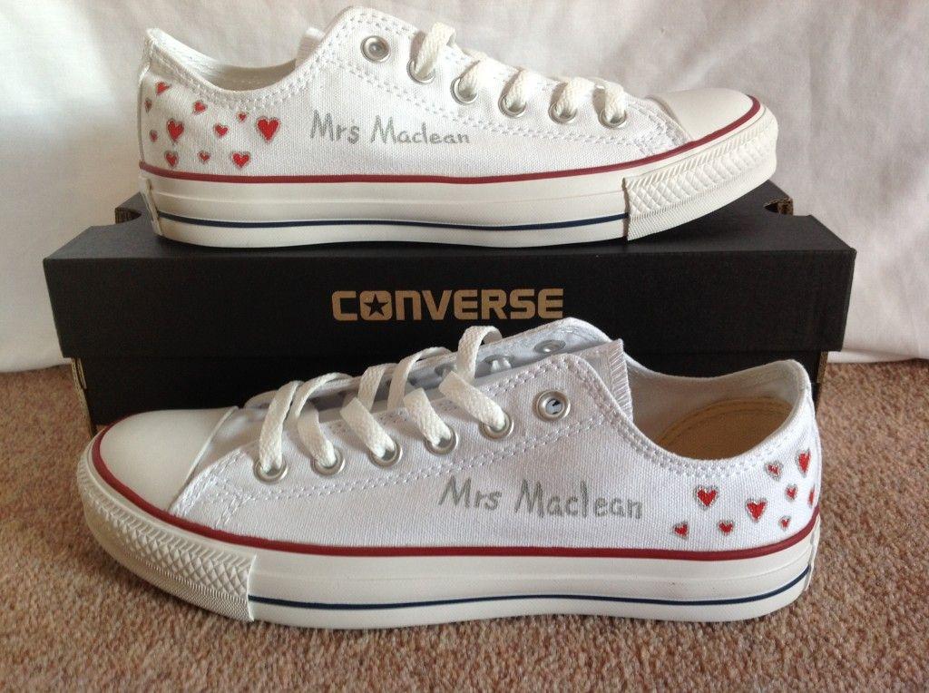 Custom Converse | Wedding converse
