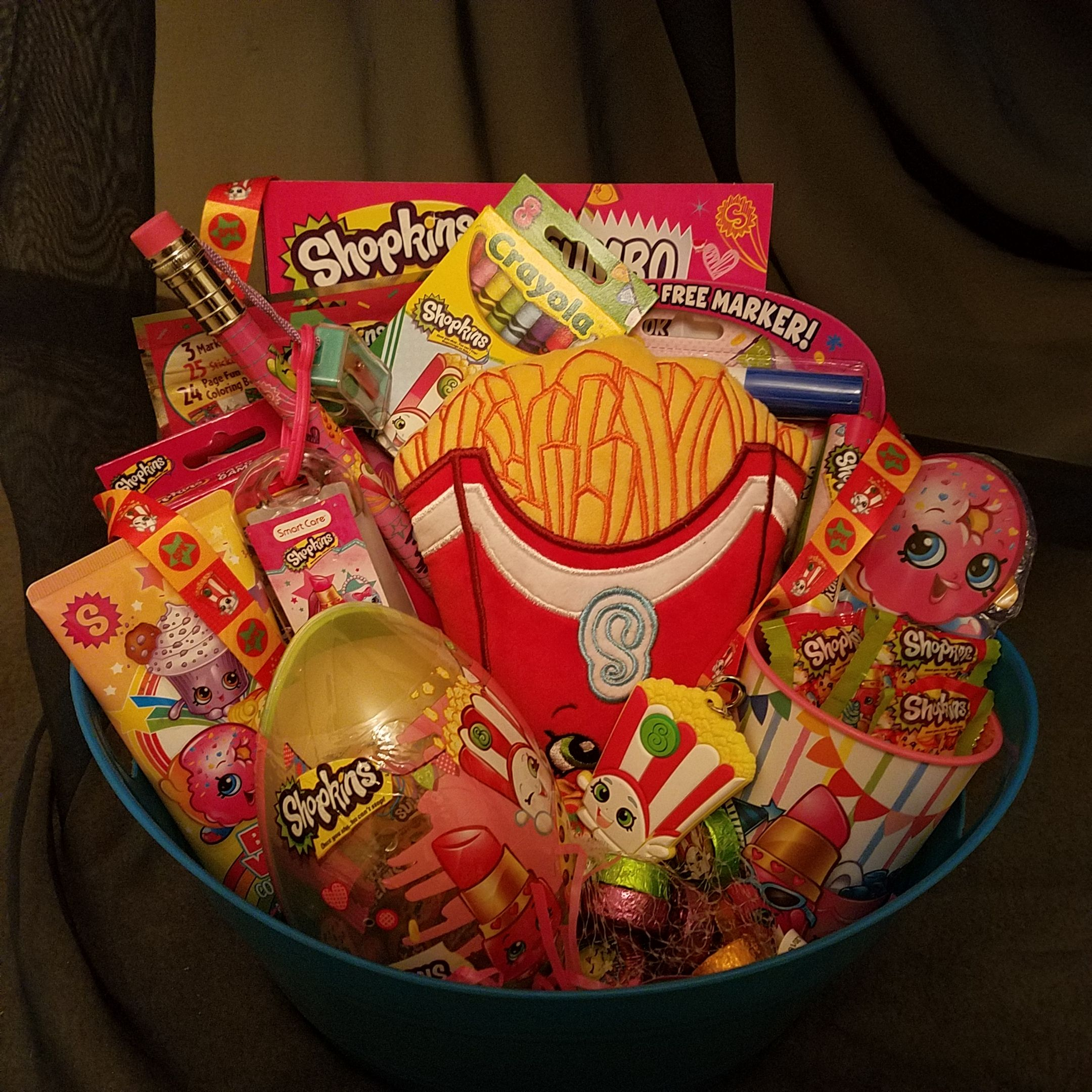 Shopkins Gift Basket Shopkins Gifts Themed Gift Baskets
