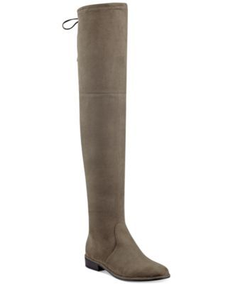 e89525e8be28 Marc Fisher Humor Over-The-Knee Boots  114.99 Marc Fisher tempers the  stunning silhouette of these Humor over-the-knee boots with a modest block  heel and ...