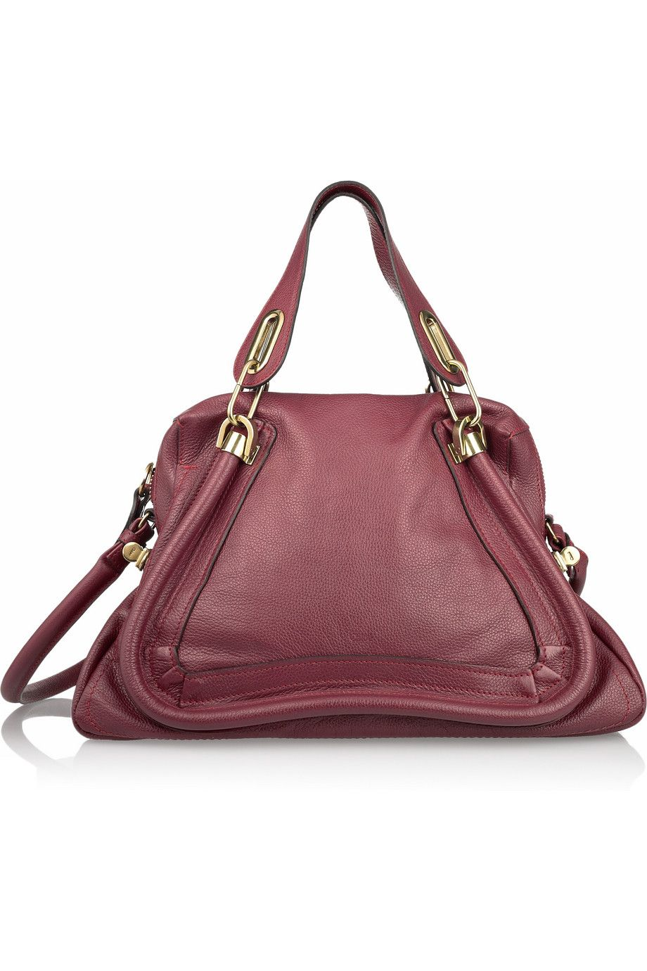 8fdba444d love the burgundy. Chloé | Paraty Medium leather shoulder bag | I ...