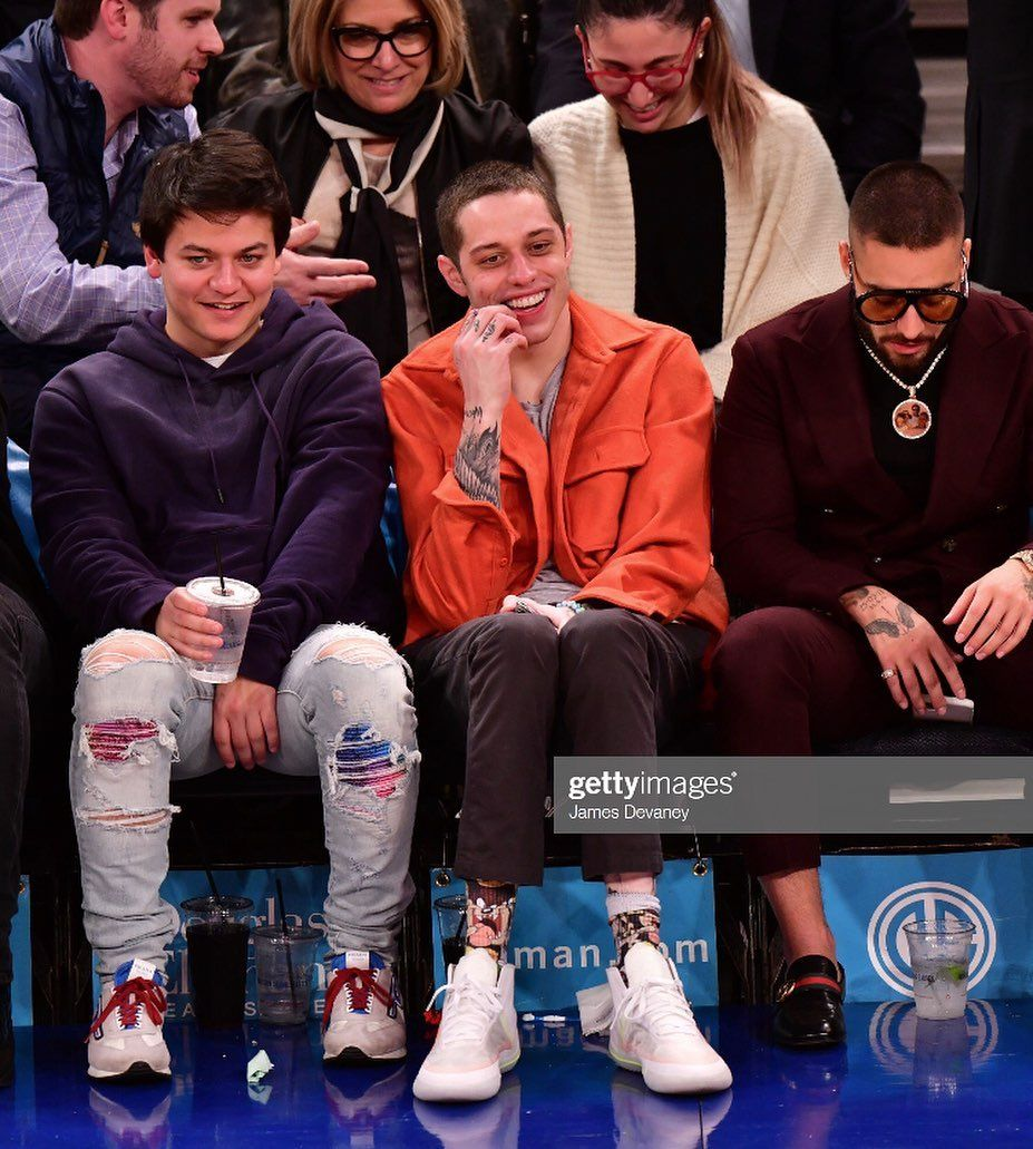 Pete Davidson Updates On Instagram New Pete At The Nyknicks
