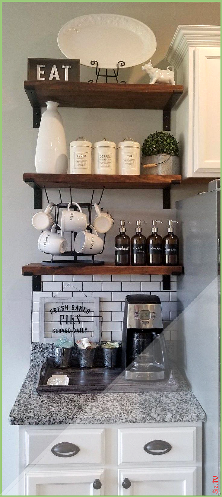 9 Best Home Coffee Bar Ideas for All Coffee Lovers 9 Best Home ...