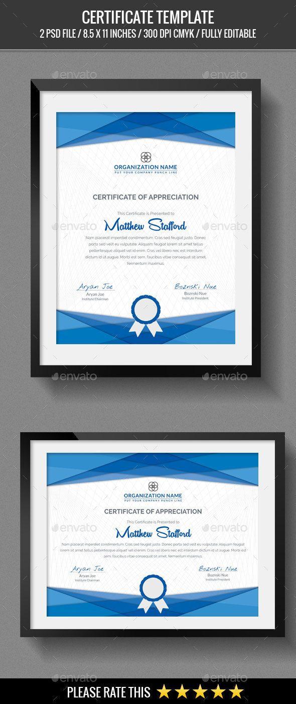 Multipurpose Certificates | Pinterest