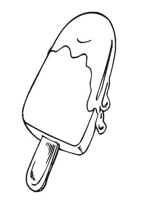 Ausmalbild Eis Ausmalen Eis Ausdrucken
