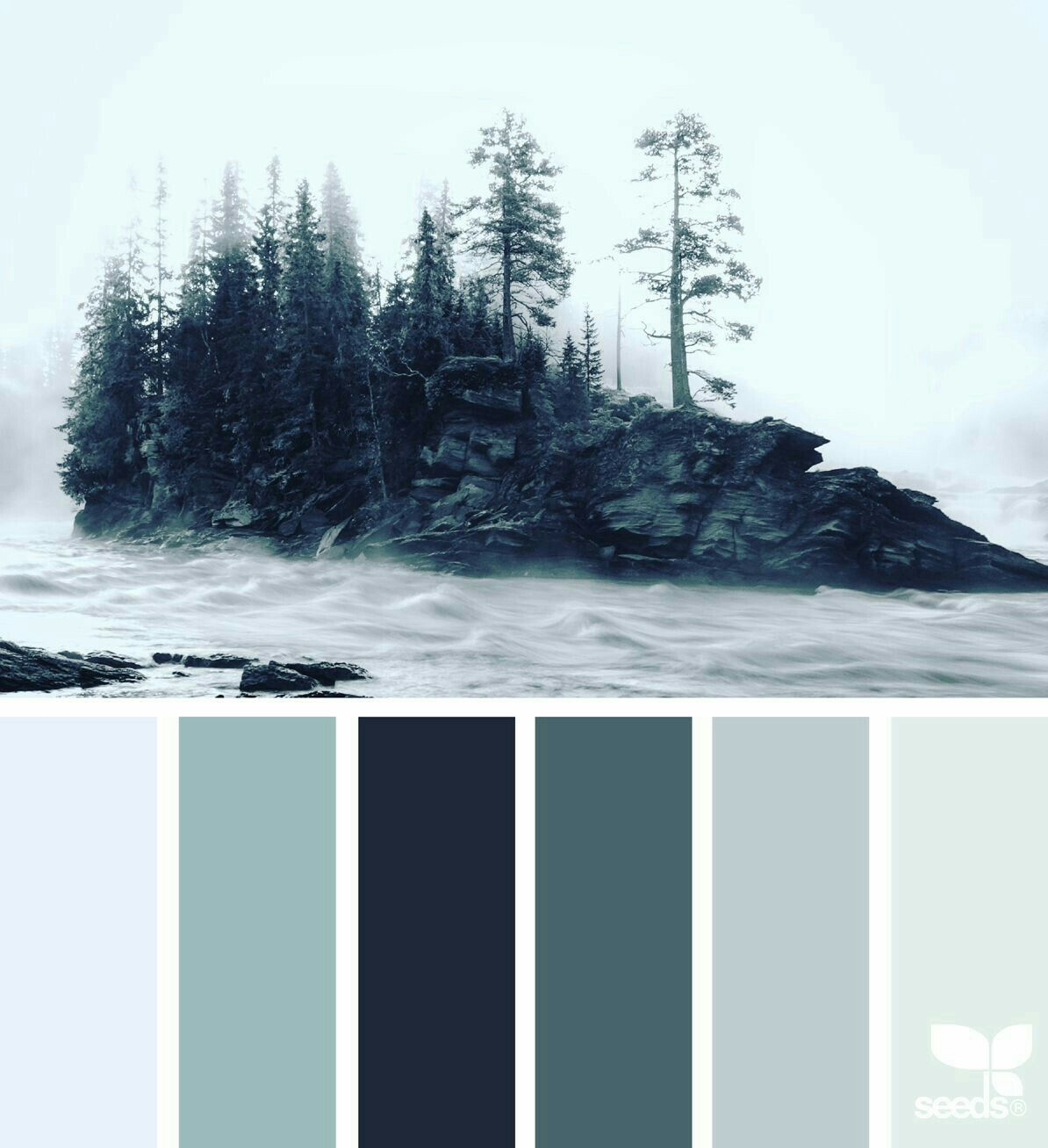 Hi All! Today It's A Combo Of Grey, Dark Eucalyptus