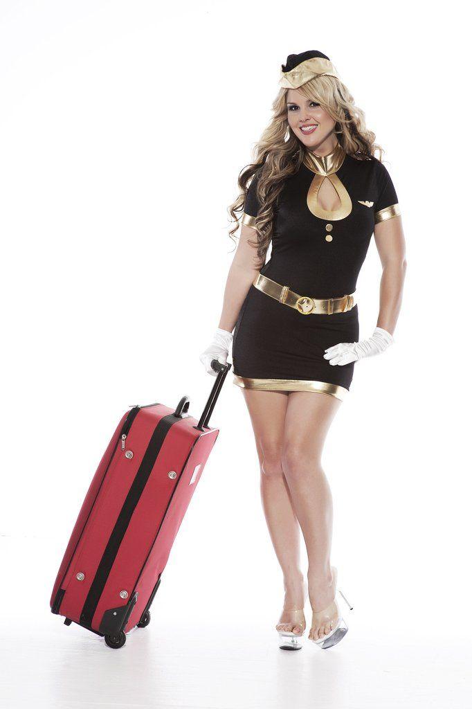 Sexy air hostess fancy dress