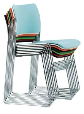 40/4 Stacking Chair David Rowland Howe
