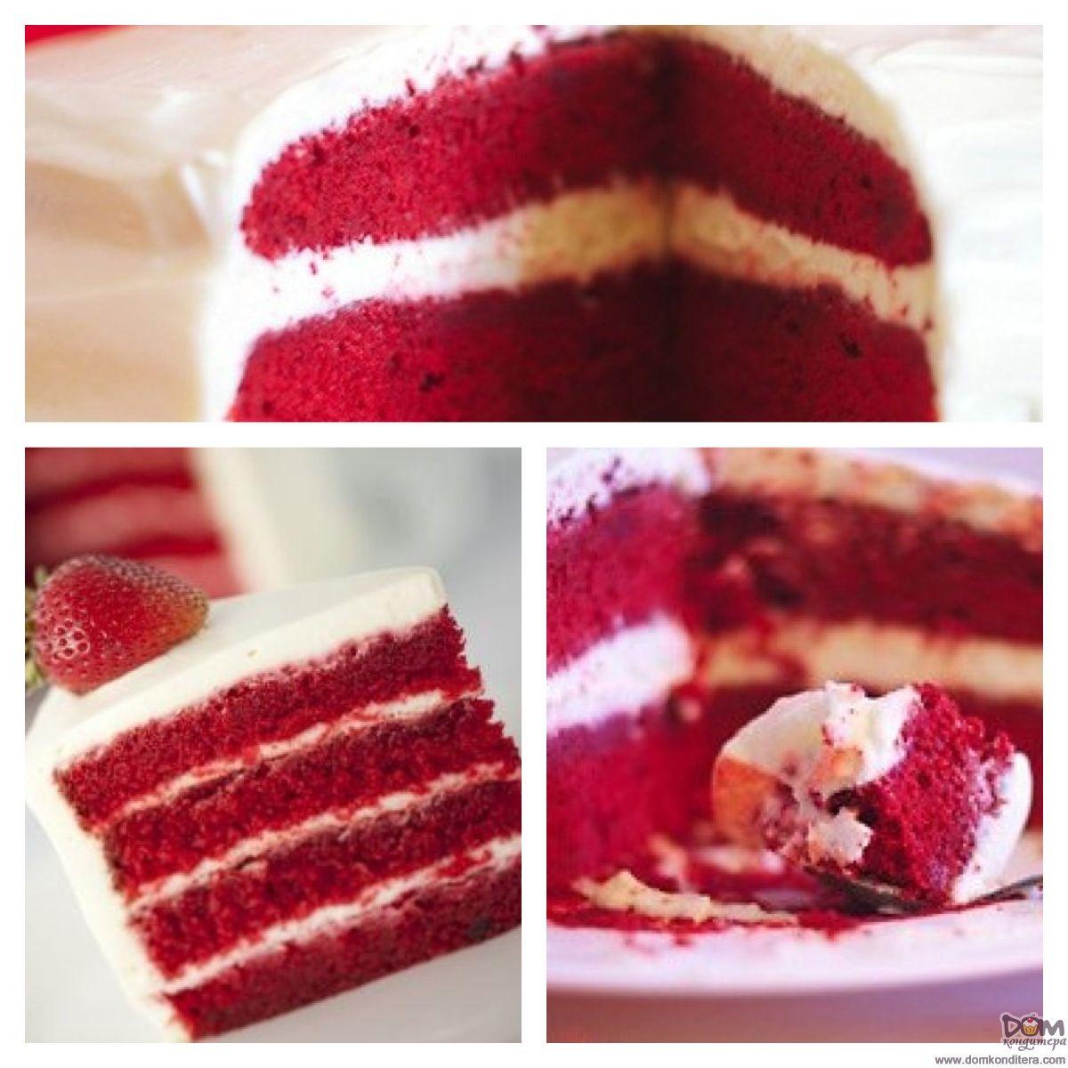 рецепт торта красный бархат | Рецепты десертов, Рецепты ...