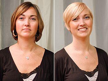 Haircut Makeovers Part 6 Short Hair Styles Hair Makeover Hair Lengths