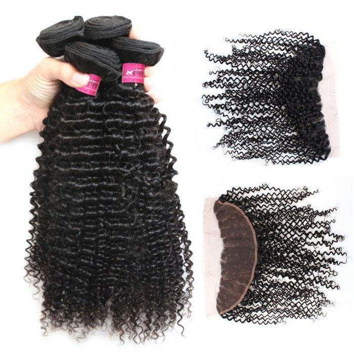 Malaysian Hair Extensions Malaysian Hair 4 Bundles Kinky Curly Weave