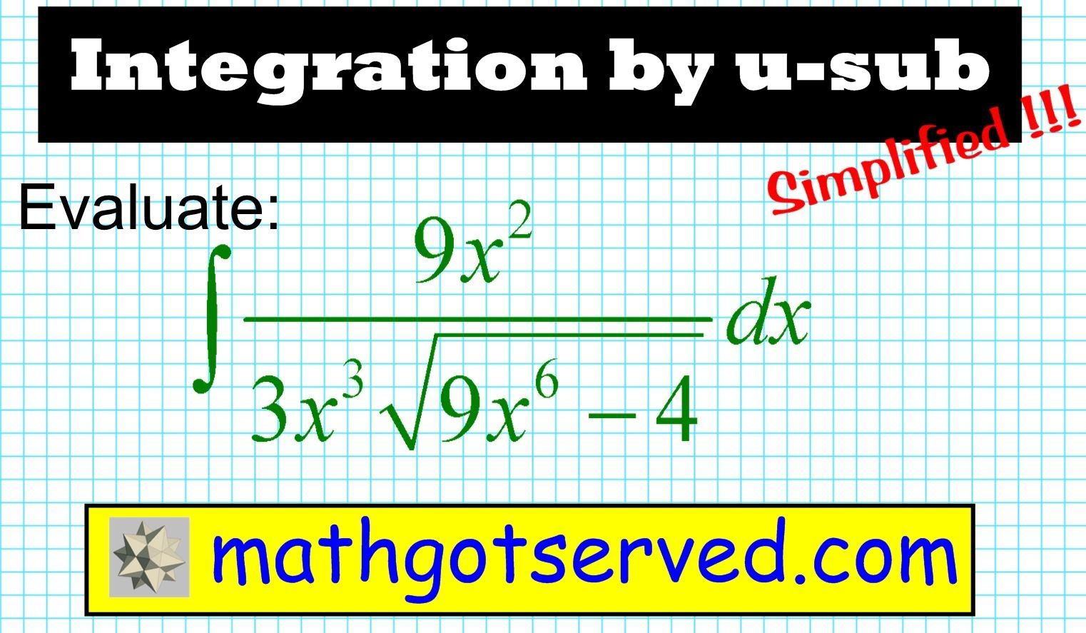 Integration By U Substitution Inverse Trig 1 Ap Calculus Ab Calc