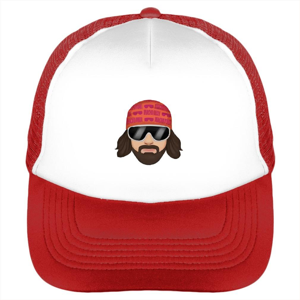 d54e9cf34a3715 This is a cool wrestler hat to show love to the legend Randy Savage. 100