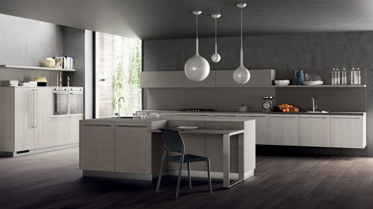 Cucine Scavolini effetto malta | home | Pinterest | Kitchens