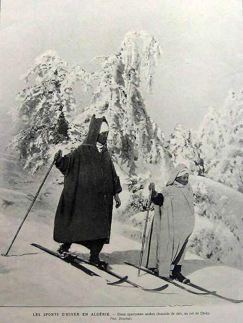 14tev: Vintage: Ski in Algeria.