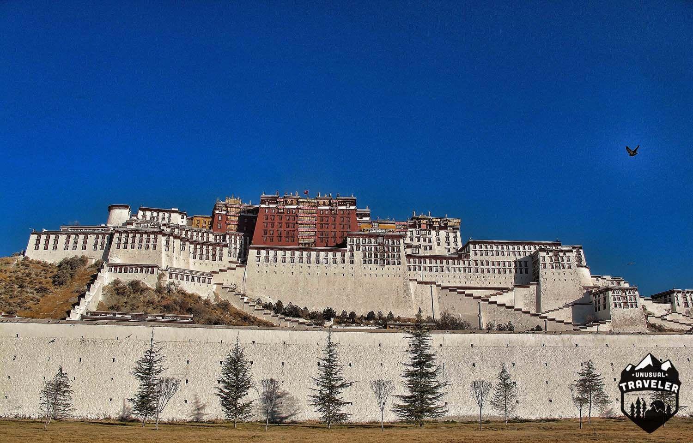 Potala Palce on Lhasa Tibet.#Tibet,#Lhasa,#Poatala