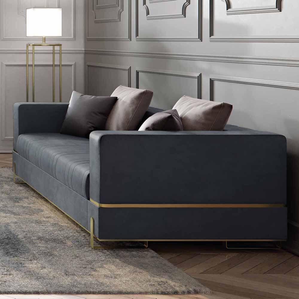 Luxury Designer Contemporary Leather Italian Sofa Italian Sofa White Leather Sofas Sofa