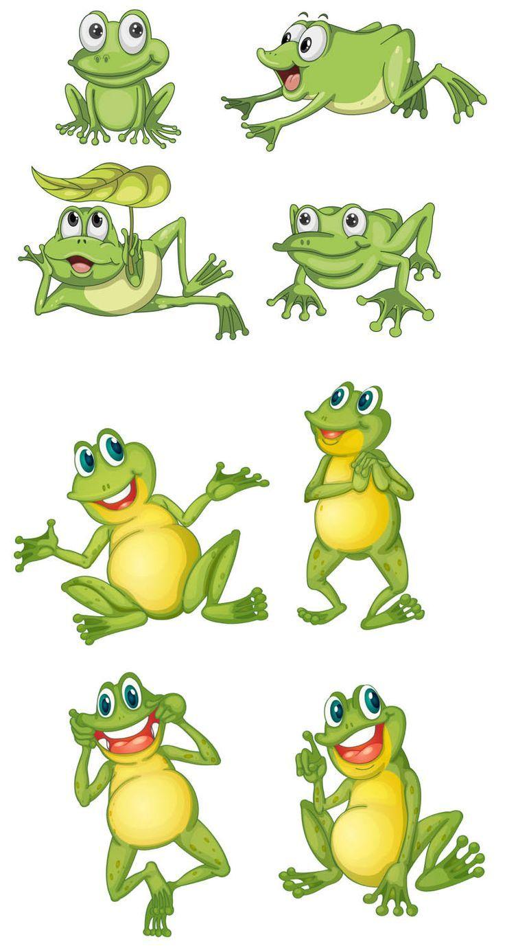 cartoon frog vector clipart pinterest frogs cartoon and clip art rh pinterest com Frog Prince Frog Prince