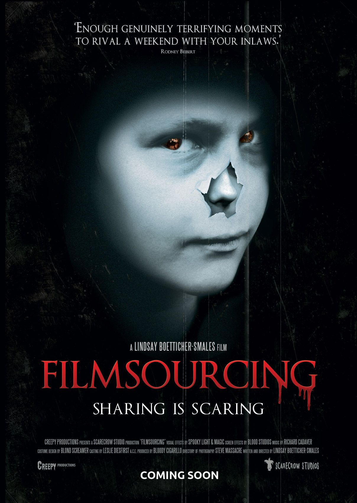 Horror Movie Poster Tutorial With Free Psd Template Poster
