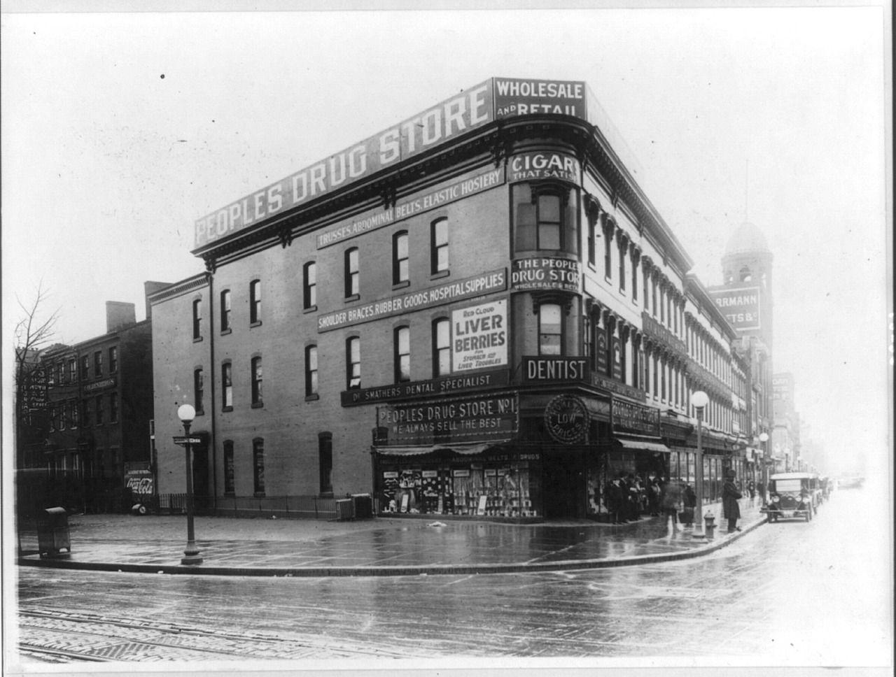 People S Drug Store Washington D C Ca 1922 Predios
