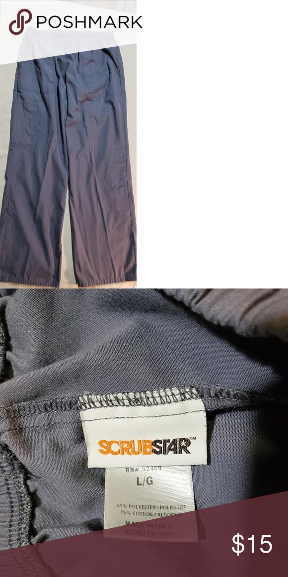 4c8d7fdb851 Scrub pants cargo style Excellent condition! Rarely worn Scrubstar Pants