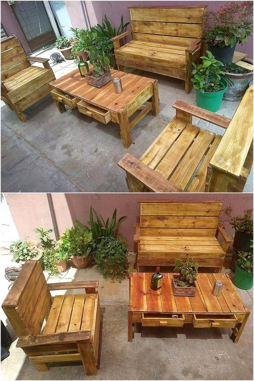 outdoor furniture made from pallets build a bench out of on extraordinary creative wooden furniture design id=66288