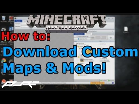 Minecraft Xbox 360: How to Download Custom Maps & Mods ...