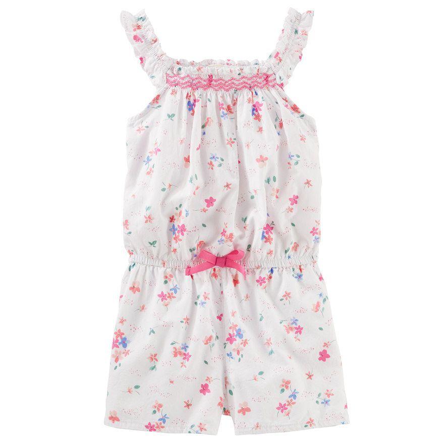 38e1481143 Toddler Girl OshKosh B gosh® Floral Romper