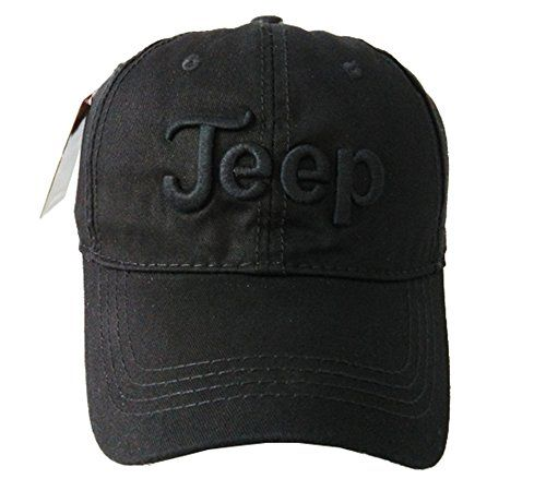 Solid Color Jeep Unisex Adjustable Cotton Baseball Cap Jeep