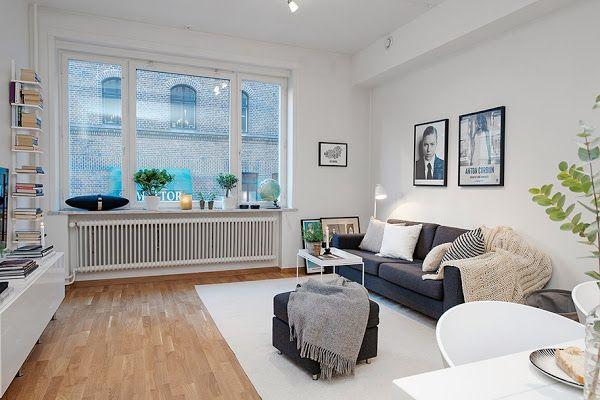 Un apartamento nórdico con mucho estilo - Ideas Con Mucho Estilo