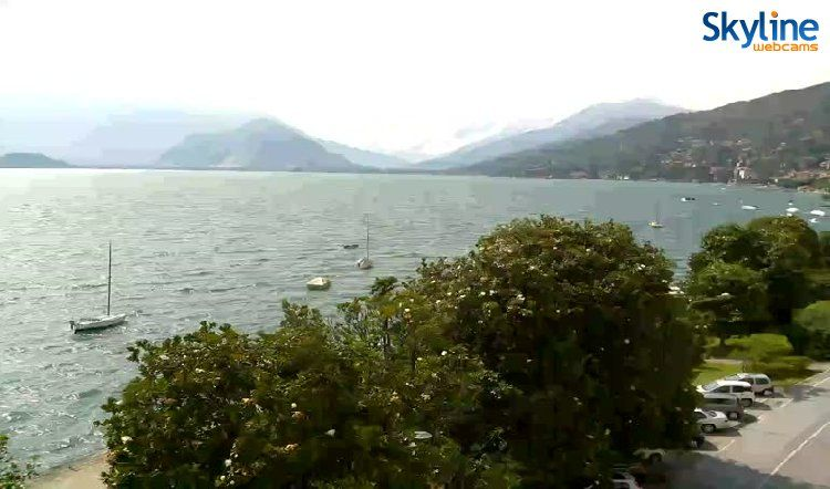 Live Cam Lake Maggiore. Watch this lovely view by visiting our web site!