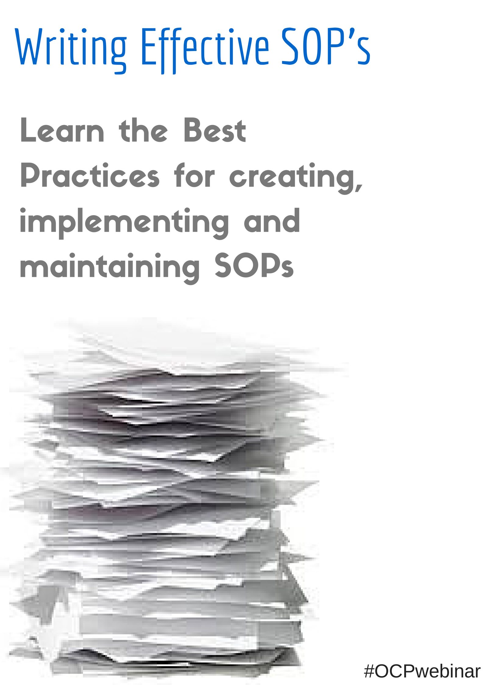 Writing Effective Sops  Standard Operating Procedures  Learn