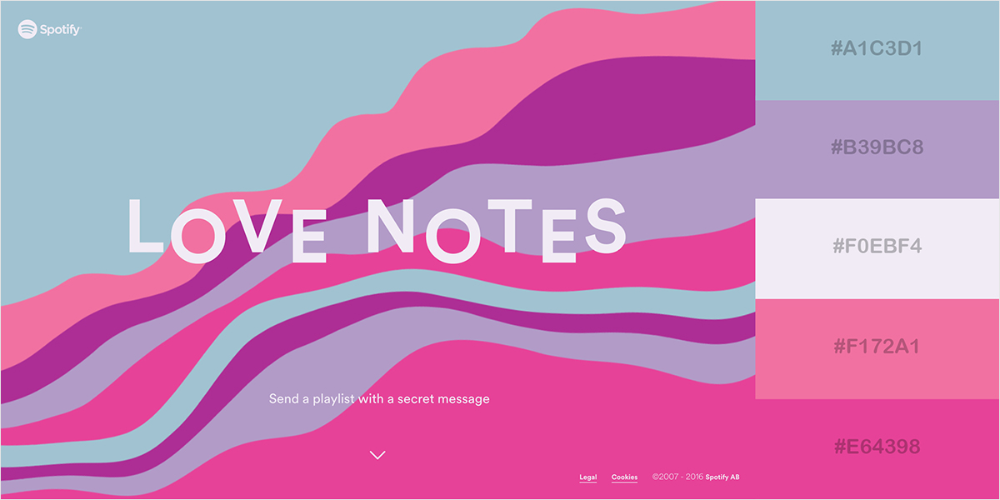 50 Gorgeous Color Schemes From Award-Winning Websites ...