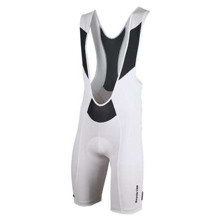 Bike bibshorts PODIO in white, by Bicycle Line Italy
