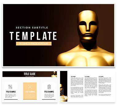 Academy Awards Keynote templates Keynote Templates - Themes - keynote template