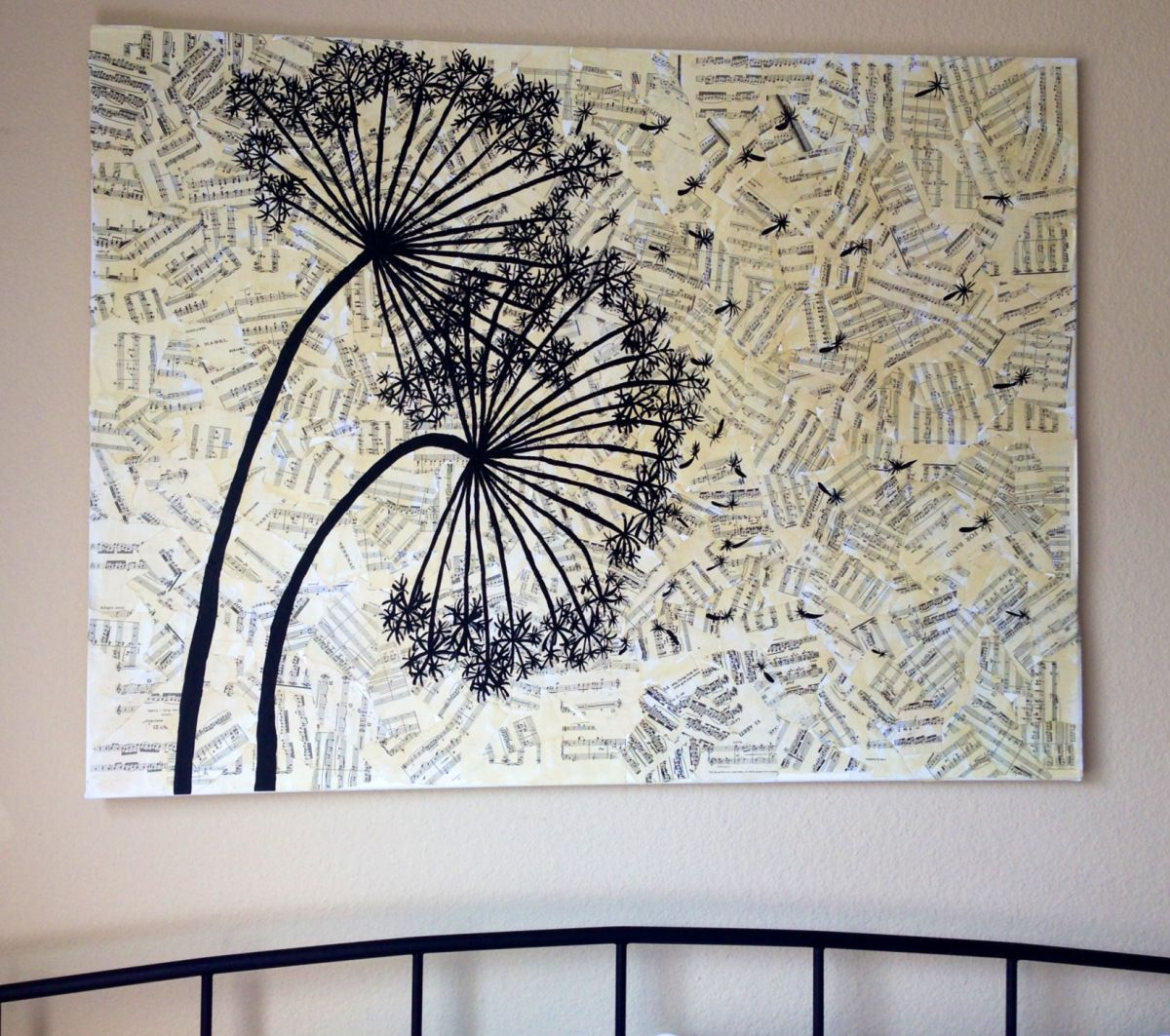 Dandelion DIY Canvas Wall Art
