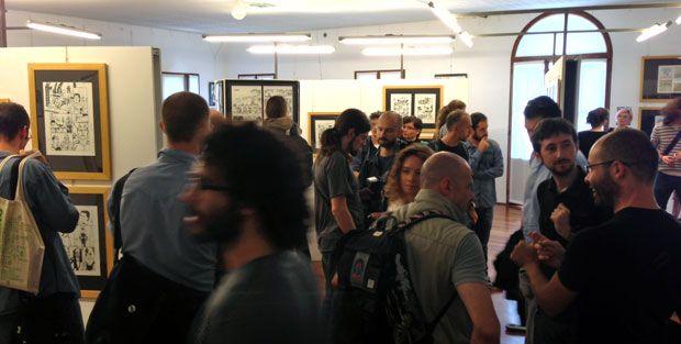 Group exhibition, Danish comic artists. Treviso Comic Book Festival, 2013. Italy.