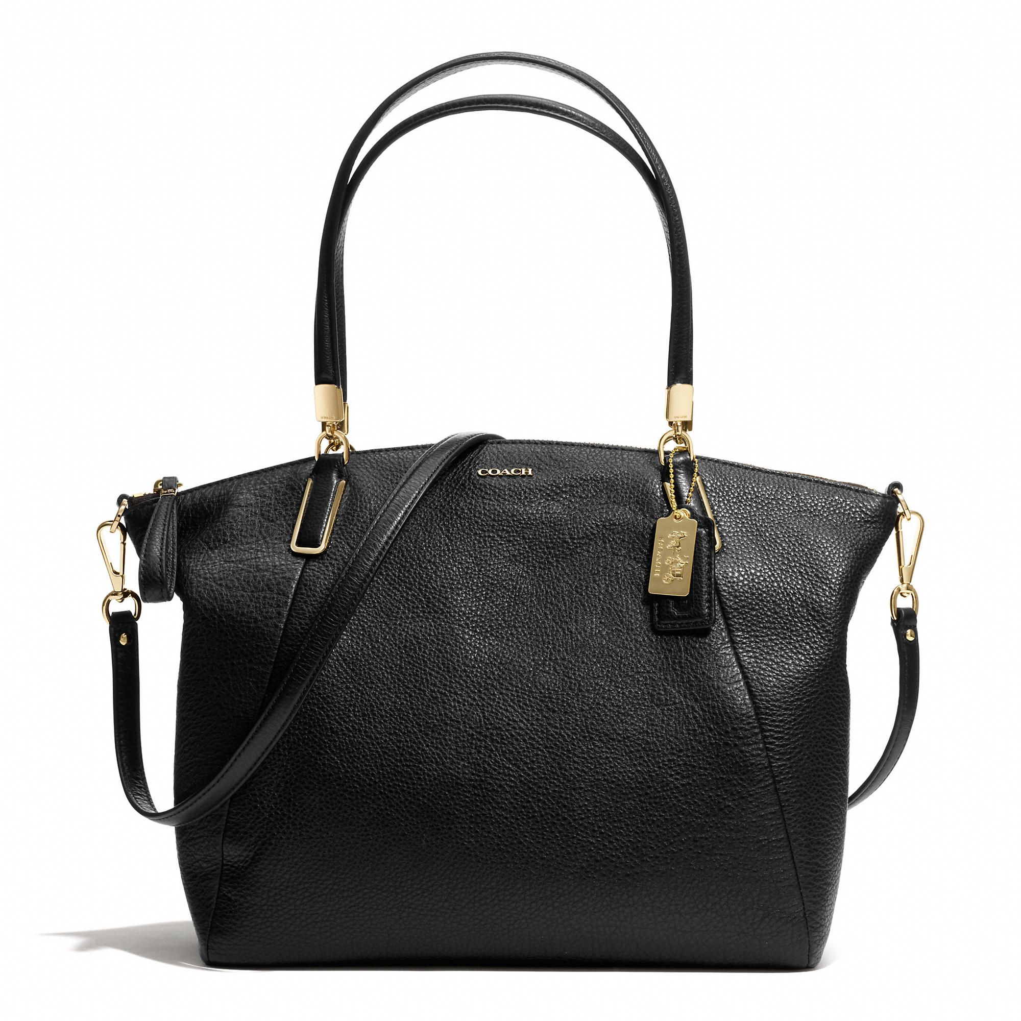 huge selection of 591d2 d0f9b Coach :: MADISON KELSEY CROSSBODY IN LEATHER black ...