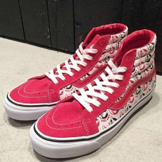 0a6d841a3b NEIGHBORHOOD x Vans Vault OG SK8-Hi Red High Top Vans For Sale  Vans ...