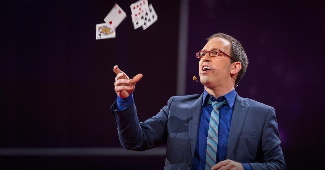 ヘルダー・ギマレス: マジックでたどる「偶然」を探す旅 | TED Talk | TED.com