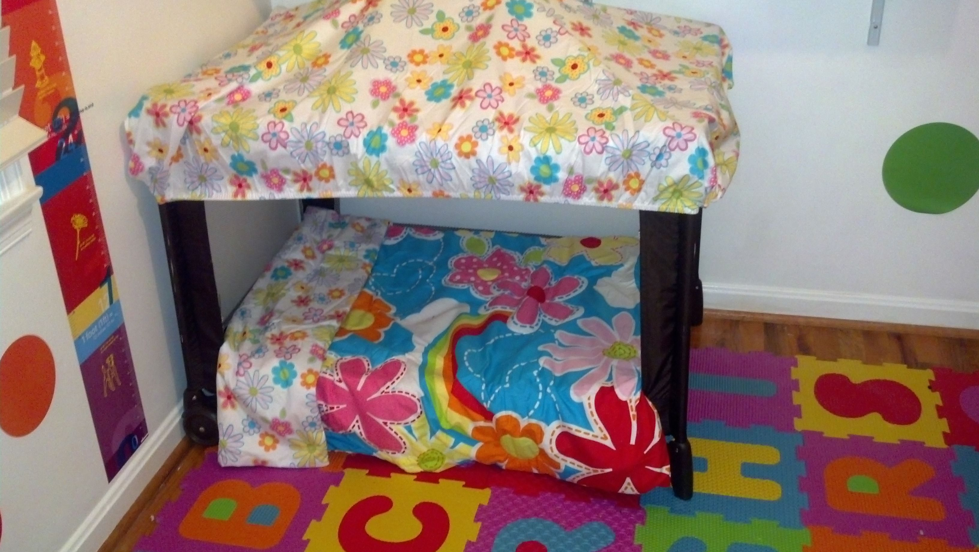 How To Repurpose An Old Pack N Play Kid Decor Diy