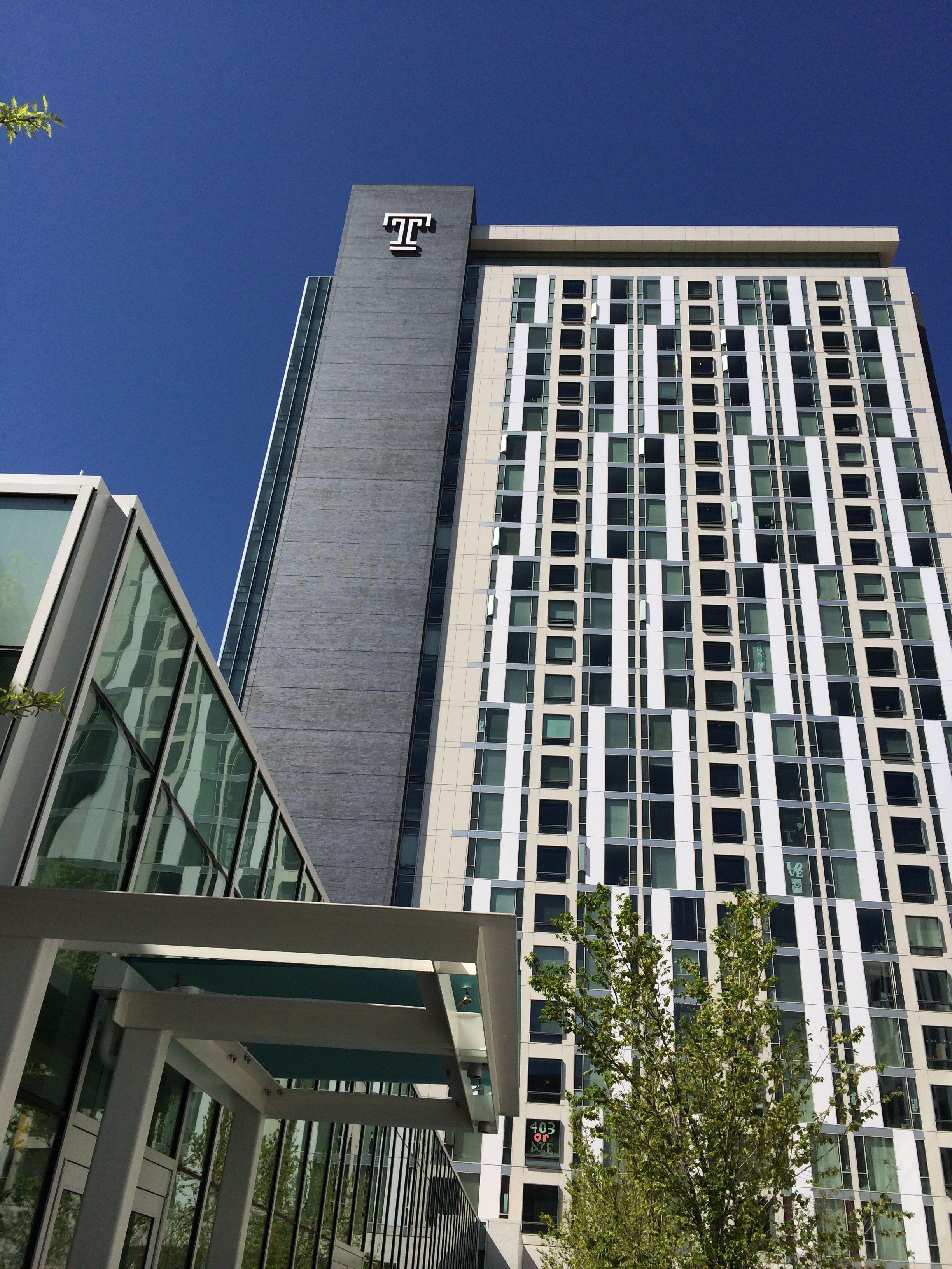 Morgan Hall Temple University Skyscraper Building