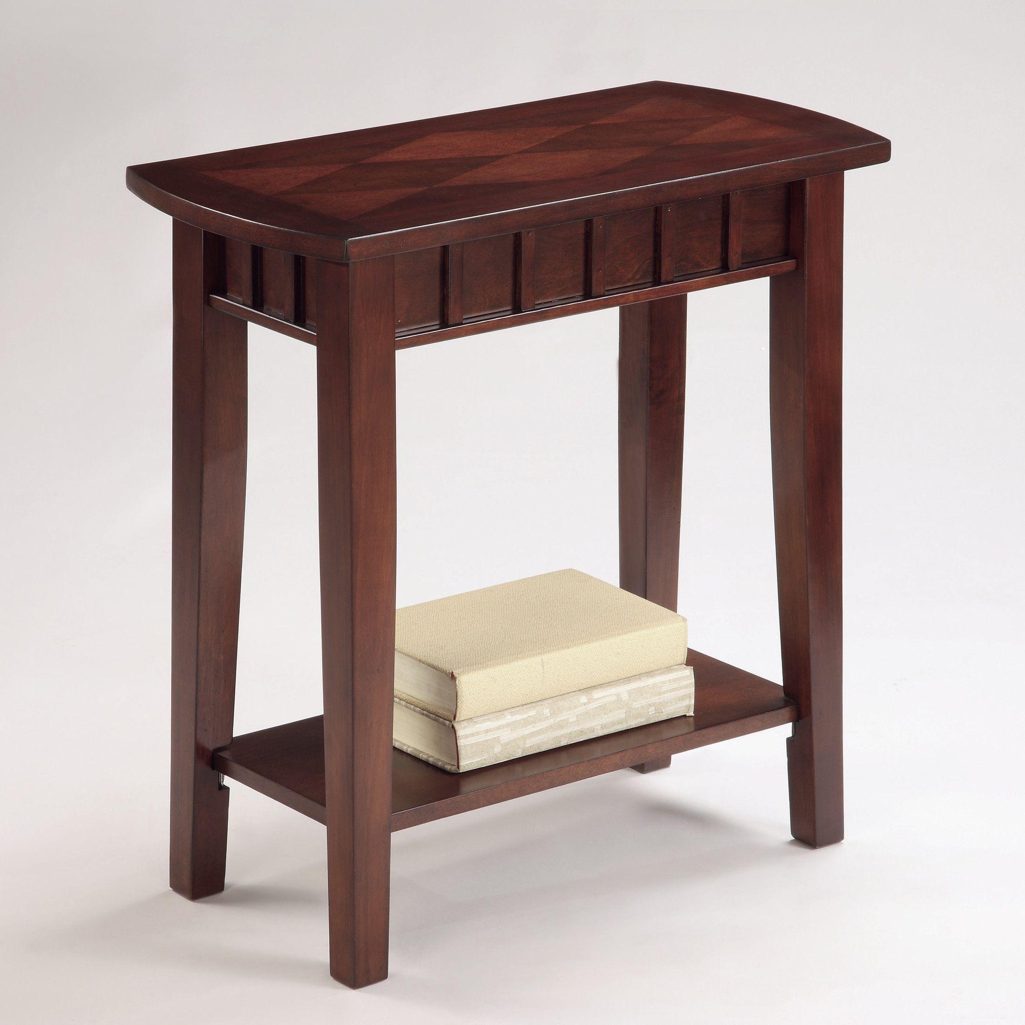 Dentil Chairside Table